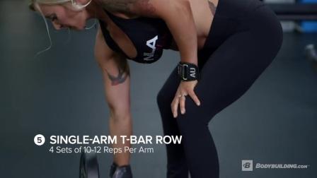 BB网出品: IFBB比基尼职业运动员Amy Updike的背部与