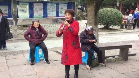 20180102,中山公园(越剧红楼梦)妹妹从江南初耒到,小顾演唱,《原创,如有雷同均为盗版》。