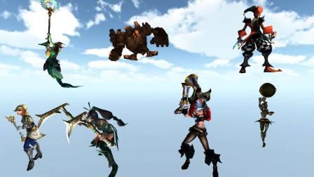 unity3D英雄联盟游戏人物角色NPC动作动画模型