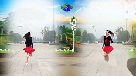 点击观看《好心情蓝蓝广场舞 花儿哪有阿妹俏 32步轻松自由舞步视频教学 附正背面示范 真有活力的舞蹈》