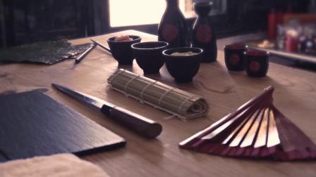 0162-日本料理寿司刺身制作手法食材搭配刀法美食餐饮高清实拍_1080p视频