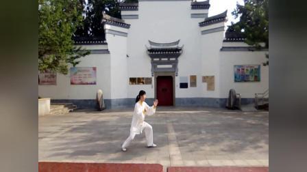 安微宣城吴新生演练24式太极拳