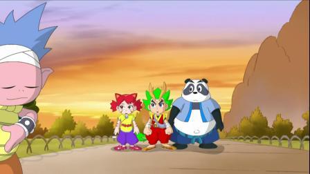 儿童动画影视熊熊也来练功夫,红花搞笑动画英