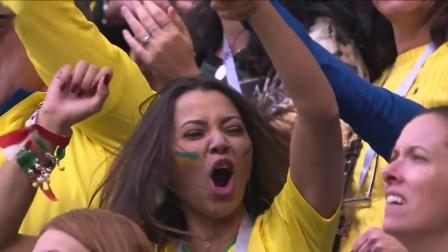 最后时刻反击内马尔轻松破门,巴西2-0领先哥斯