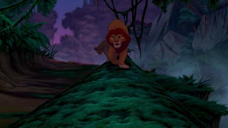 《狮子王》娜娜想要辛巴回到他们的家园 但是被辛巴拒绝了