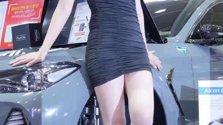 180722 2018 首尔汽车沙龙 韩国美女模特 车模 이송