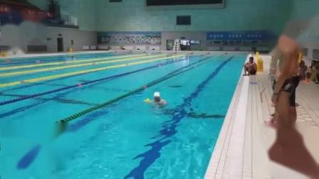 我在「中游体育」泳事: 游泳教学课教法练习(蛙