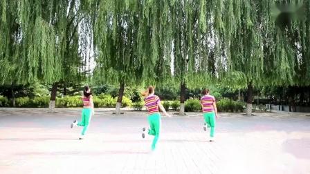 云裳广场舞 幸福跳起来 大众健身舞动作分解教学视频 正背面示范