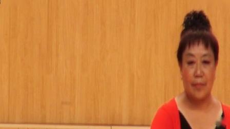 29-2018年延安市体育馆健身操舞大赛【山里人乐的好潇洒】表演;清凉山,领队;冯有玲
