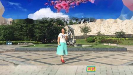 汉英广场舞 心锁 简单易学的健身舞视频