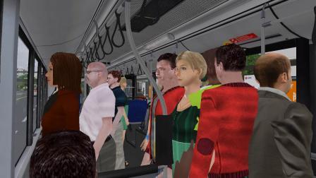 【小绿】巴士模拟2  广佛市1.4  B13高峰快线 棠下