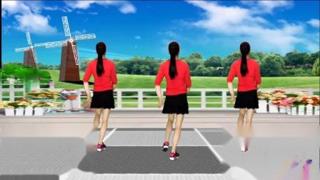 蓝天云广场舞 DJ哥是农民工 初学者广场舞视频教学 32步舞蹈分解 附正背面示范