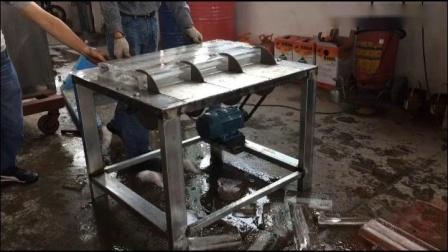Block ice cutter