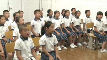 人教版(简谱)小学音乐三年级上册《唱歌 快乐的do re mi》(小学音乐青年教师参赛获奖课例教学实录)