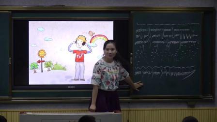 人教版(简谱)小学音乐三年级下册《打字机》(小学音乐青年教师参赛获奖课例教学实录)