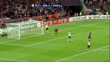 我在2010-2011赛季 【欧冠】决赛 巴萨 vs 曼联 下半场截取了一段小视频