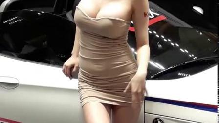 性感美女车模二十八