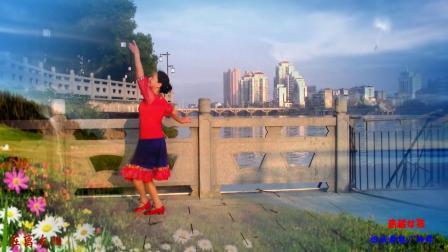 榕城舞魅广场舞 青藏女孩 编舞 莉莉 蒙族风格草原健身舞视频