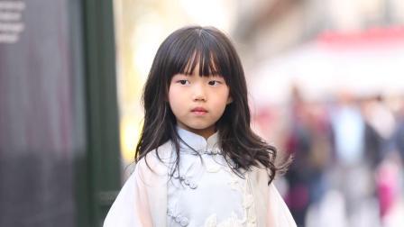 贝的屋 童装品牌巴黎街拍纪实