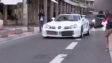 街拍FAB改装版奔驰McLaren SLR