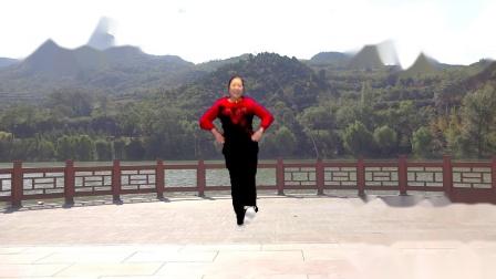 宜阳明萱广场舞 山河美 编舞 青儿 正背面示范 附广场舞教学分解视频