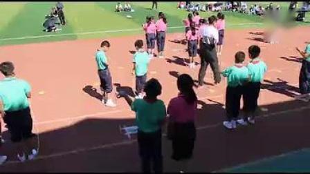 小学体育四年级《双人合作跳绳》【洪岩】(第七届全国中小学优秀体育课教学观摩展示活动)