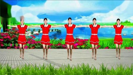 河北青青广场舞《女人就要活得漂亮》32步附教学, 大气嘹亮, 唱出女人心声, 简单易学_高清