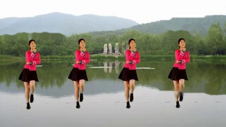 红豆梦千年广场舞《纳西情歌》编舞幽谷百合