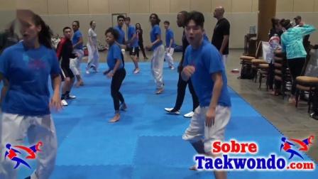 国外跆拳道竞技训练营的干货来了