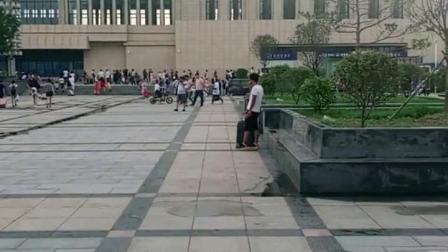 河北邯鄲市新火車站!