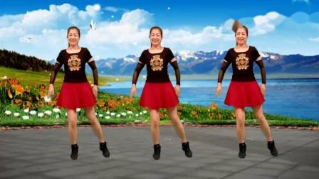 红豆金社广场舞《闯码头》32步步子舞