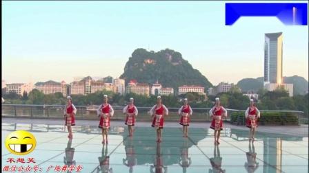 北雀舞之韵广场舞相见 好看又简单的民族舞蹈