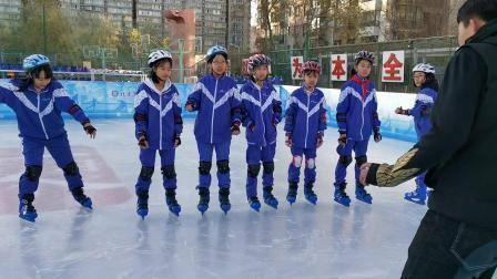 响应国家号召三亿人参与冰雪运动,北京广渠门