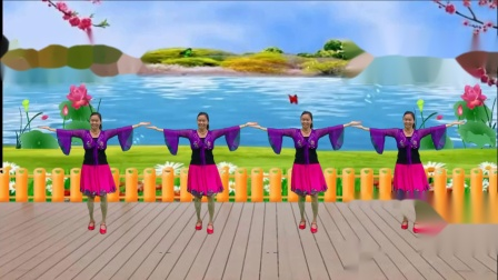 王妹儿广场舞(251号)山不转水转:编舞:青春飞舞