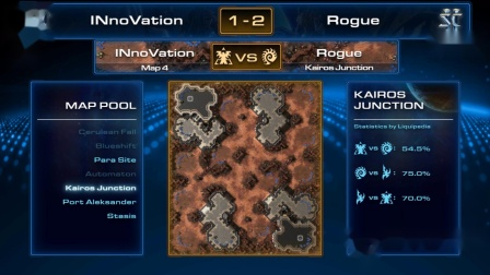【爆】11月30日WESG2018韩国区预选赛(6)INnoVation(T) vs Rogue(Z)