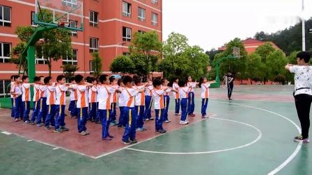 一年级体育《障碍跑》公开课教学视频