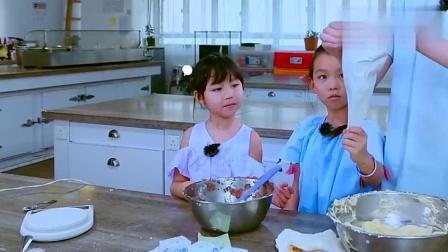 蔡少芬的普通话,自己说不要紧还带坏两个女儿,