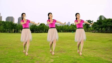 红豆广场舞精选《久别的人串杜十娘》优美32步