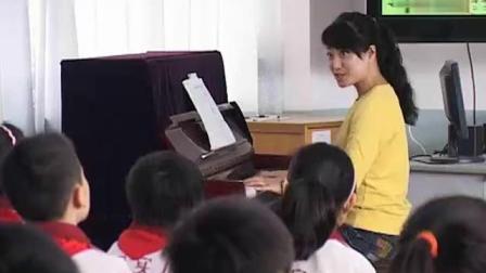 三年级音乐人音板《摇船调》优质课教学视频
