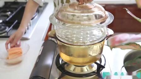 宝宝辅食三文鱼肉松制作方法,适合9个月宝宝辅食