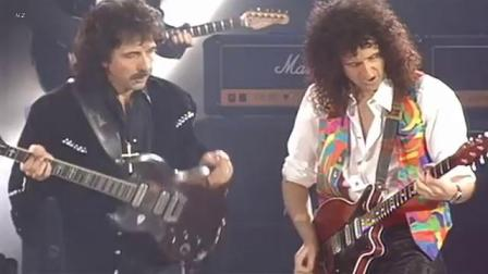 (382) Queen  Roger Daltrey  Tony Iommi - I Want It All 1992 Live