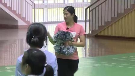 高中体育《啦啦操组合动作学习及创编》获奖课教学视频