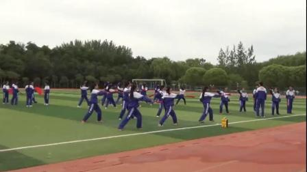 高中体育《校园太极功夫扇》获奖课教学视频