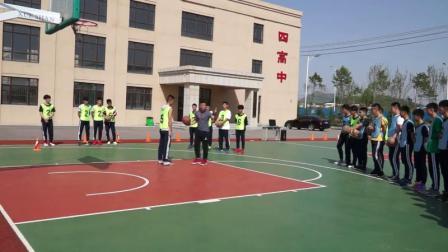 高中体育篮球《后掩护》获奖课教学视频