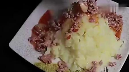 《土豆泥》做法,这样做老公孩子最喜欢,上桌就被抢光视频