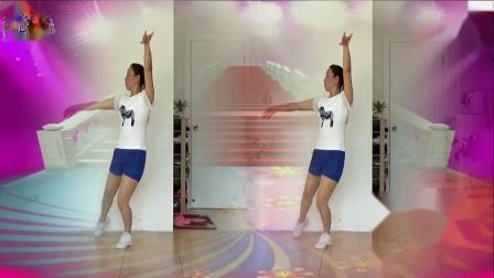 蓝莓思洁广场舞《兄弟干杯》动感健身舞视频除夕特献
