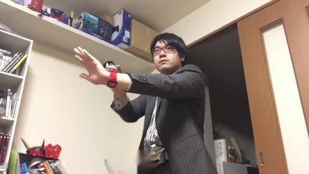 《假面骑士》宅男自拍变身特效创意动画!一人分饰五角