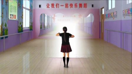 惠质兰馨广场舞《成吉思汗》健身操正面示范