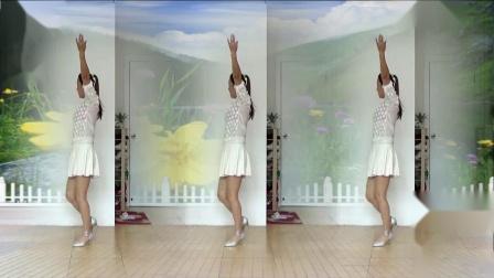 蓝莓思洁广场舞《采槟榔》熟悉的民歌,好看的舞姿