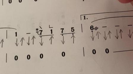 古筝琵琶语乐谱分析1